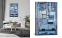 """iCanvas """"Boston Panoramic Skyline Cityscape"""" Gallery-Wrapped Canvas Print"""