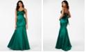 B Darlin Juniors' Tafetta Mermaid Dress, Created for Macy's