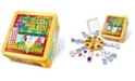 Puremco Mexican Train and Chickenfoot Dominoes - Complete Dual Game Set in a Tin