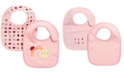 First Impressions Baby Girls 2-Pk. Reversible Ladybug Bibs, Created for Macy's