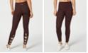 Calvin Klein Space-Dyed Crisscross Calf Leggings