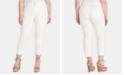Jessica Simpson Trendy Plus Size Straight-Leg Ankle Jeans