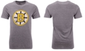 Majestic Men's Boston Bruins Tri-Blend Team Logo T-Shirt