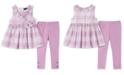 Calvin Klein Toddler Girls 2-Pc. Printed Tunic & Leggings Set