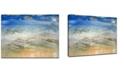 "Ready2HangArt 'Sparkling Shores' Canvas Wall Art, 20x30"""