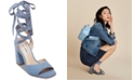 Steve Madden Women's Kenny Tie-Up Dress Sandals