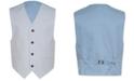 Calvin Klein Big Boys Slim-Fit Striated Twill Suit Vest