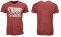 Retro Brand Men's Oklahoma Sooners Mock Twist Schooner T-Shirt
