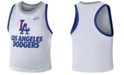 Nike Women's Los Angeles Dodgers Crop Tank