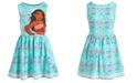Disney Little Girls Printed Moana Dress