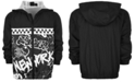 Ideology Little Boys Hooded Graffiti-Print Jacket, Created for Macy's