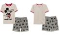 Disney Little Boys Mickey Mouse T-Shirt & Shorts Set