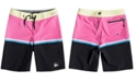 "Quiksilver Little Boys Highline Division Stretch Colorblocked 14"" Board Shorts"