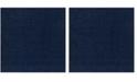 """Safavieh Athens Navy 6'7"""" x 6'7"""" Square Area Rug"""