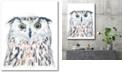 "Courtside Market GG Funky Owl Portrait II Gallery-Wrapped Canvas Wall Art - 18"" x 24"""