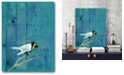 """Courtside Market Blue hue bird Gallery-Wrapped Canvas Wall Art - 16"""" x 20"""""""