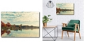 """Courtside Market Dows Lake Gallery-Wrapped Canvas Wall Art - 24"""" x 36"""""""