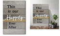 """Courtside Market Happily Ever After Gallery-Wrapped Canvas Wall Art - 12"""" x 18"""""""