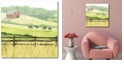 """Courtside Market Sunlit Graze I Gallery-Wrapped Canvas Wall Art - 16"""" x 16"""""""