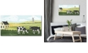 """Courtside Market Home on The Farm Collection II Gallery-Wrapped Canvas Wall Art - 14"""" x 28"""""""