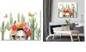 """Courtside Market Frida's Flowers Collection Gallery-Wrapped Canvas Wall Art - 16"""" x 20"""""""