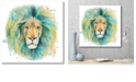 """Courtside Market Chromatic Cats II Gallery-Wrapped Canvas Wall Art - 20"""" x 20"""""""