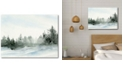 """Courtside Market Winter Pines Gallery-Wrapped Canvas Wall Art - 18"""" x 24"""""""