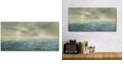 """Courtside Market Seascape Gallery-Wrapped Canvas Wall Art - 12"""" x 24"""""""