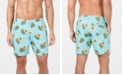 "Trunks Surf & Swim Co. Men's Avocado-Print 6"" Volley Swim Trunks, Created for Macy's"