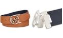 Michael Kors Reversible MK Logo Buckle Belt