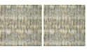 "Safavieh Skyler Gray and Green 6'7"" x 6'7"" Square Area Rug"