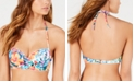 SUNDAZED Spring Fling Bandeau Bikini Top, Created for Macy's