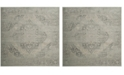 Safavieh Vintage Silver 6' x 6' Square Area Rug