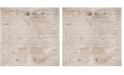 "Safavieh Vintage Light Gray and Ivory 6'7"" x 6'7"" Square Area Rug"
