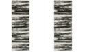 "Safavieh Retro Dark Grey and Light Grey 2'3"" x 9' Runner Area Rug"