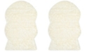 Safavieh Faux Sheep Skin Ivory 2' X 3' Area Rug
