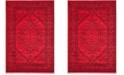 Safavieh Adirondack Red and Black 10' x 14' Area Rug
