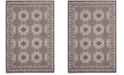 Safavieh Artisan Brown and Ivory 4' x 6' Area Rug