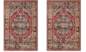Safavieh Bijar Red and Royal 8' x 10' Area Rug