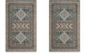 Safavieh Classic Vintage Slate and Beige 4' x 6' Area Rug