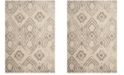 Safavieh Arizona Shag Ivory and Gray 4' x 6' Area Rug