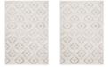 Safavieh Skyler Ivory and Gray 4' x 6' Area Rug