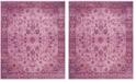 Safavieh Valencia Pink and Multi 9' x 12' Area Rug
