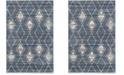 Safavieh Tunisia Light Blue and Cream 4' x 6' Area Rug