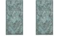 Safavieh Palazzo Turquoise and Black 5' x 8' Area Rug