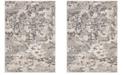 "Safavieh Spirit Taupe and Gray 6'7"" x 6'7"" Square Area Rug"