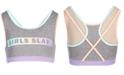 Ideology Big Girls Plus Slay-Print Sports Bra, Created for Macy's