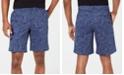 """DKNY Men's Floral Chino 9"""" Shorts"""