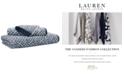 "Lauren Ralph Lauren Sanders  Antimicrobial Cotton Basket Weave 30"" x 56"" Bath Towel"