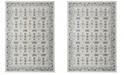 Safavieh Madison Ivory and Navy 6' x 9' Sisal Weave Area Rug